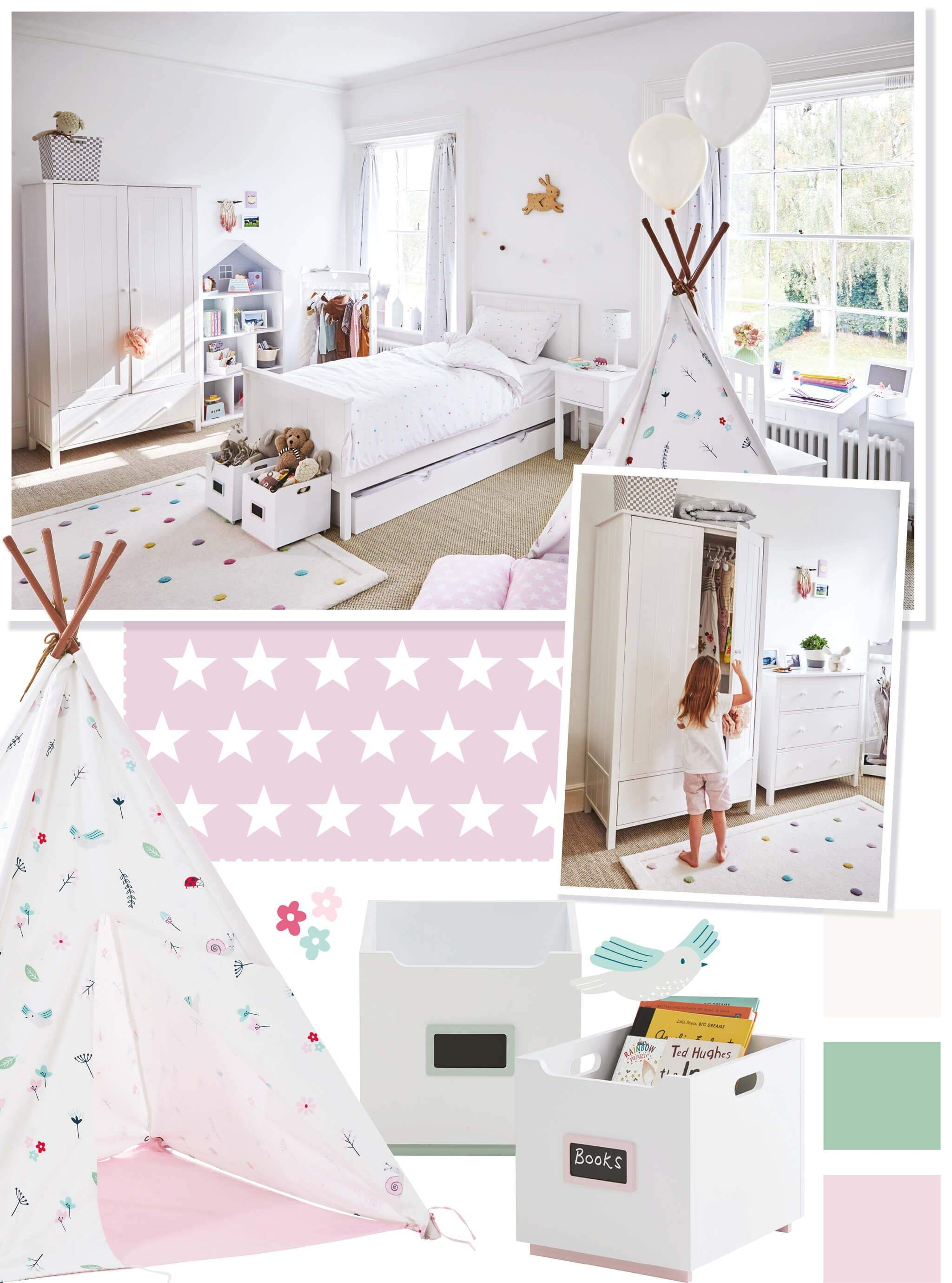 New children\'s bedroom ideas in 2019 | Pink themed ...