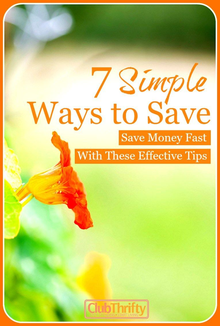 Want to learn how to save money? Forget the gimmicks. Use these 7 simple and effective strategies to start saving money right away!