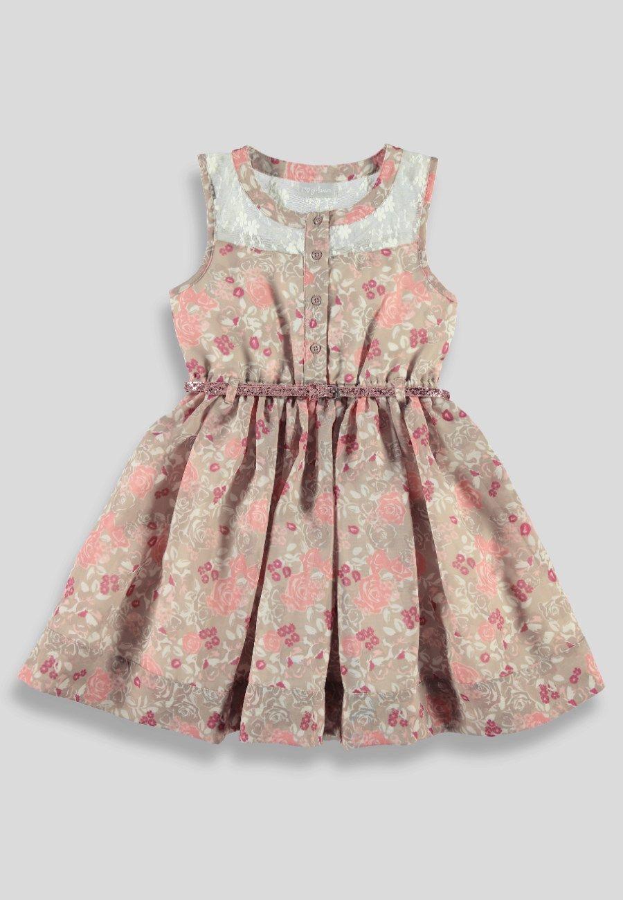 6004ec010b28 Girls Lace Dress (3-13yrs) - Matalan
