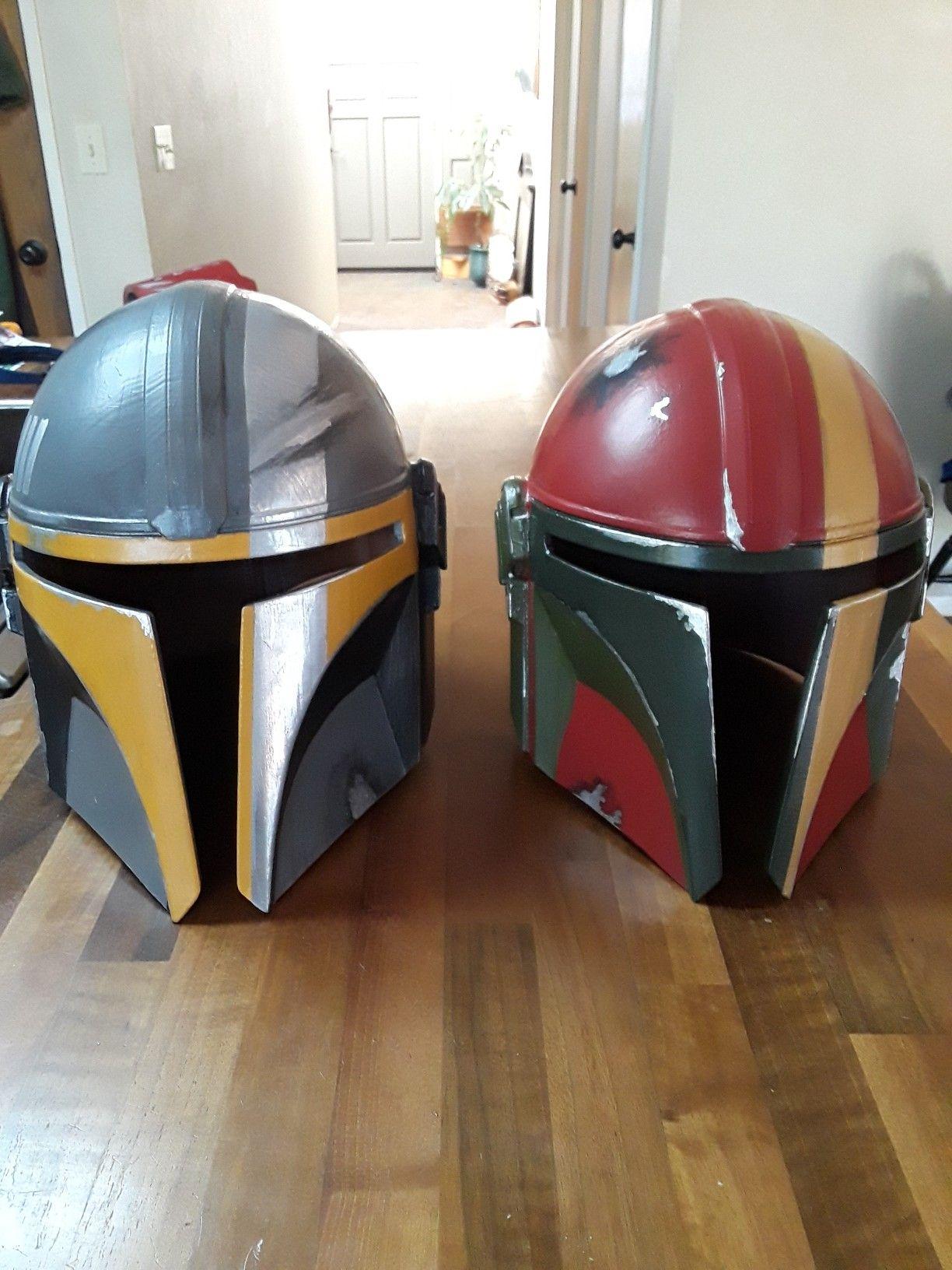 3D printable helmet inspired by Rebels Mandalorians