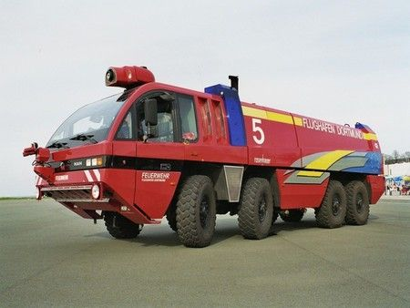Airport Fire Truck (Germany) - germany, fire truck, airport fire truck, german firetruck, airport