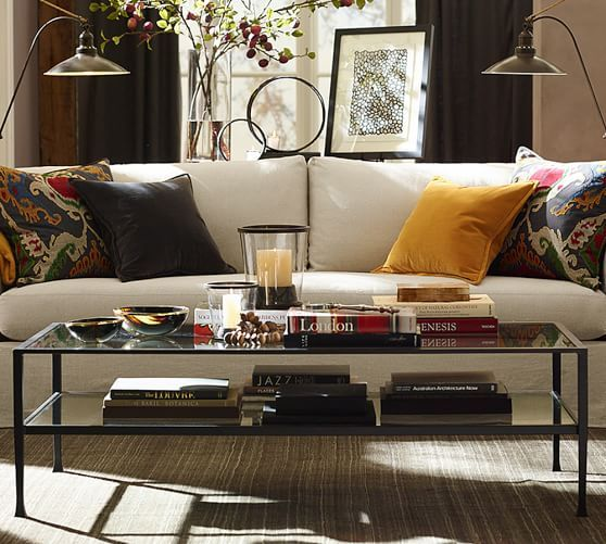 tanner rectangular coffee table | pottery barn | greatroom