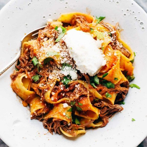 Photo of Slow Cooker Beef Ragu with Pappardelle – Pinch of Yum