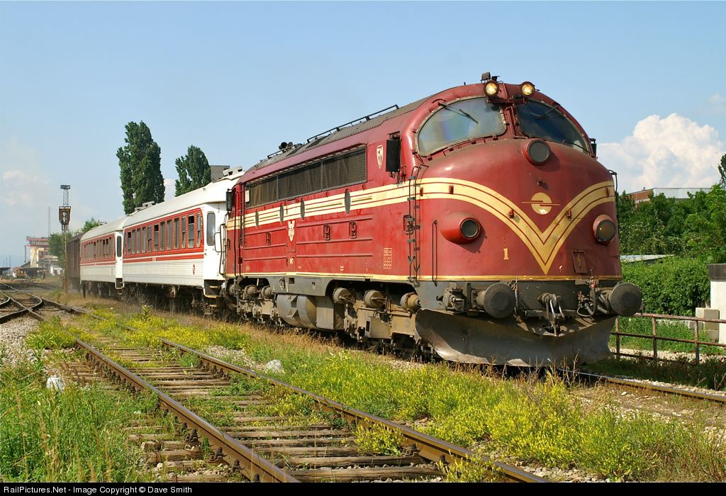 Hk 007 Kosovo Railways Nohab At Fushe Kosove Yugoslavia By Dave Smith Railway Kosovo Diesel Locomotive