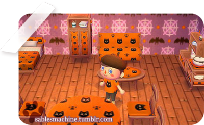 Sable S Machine Animal Crossing Animal Crossing Qr Black Rug