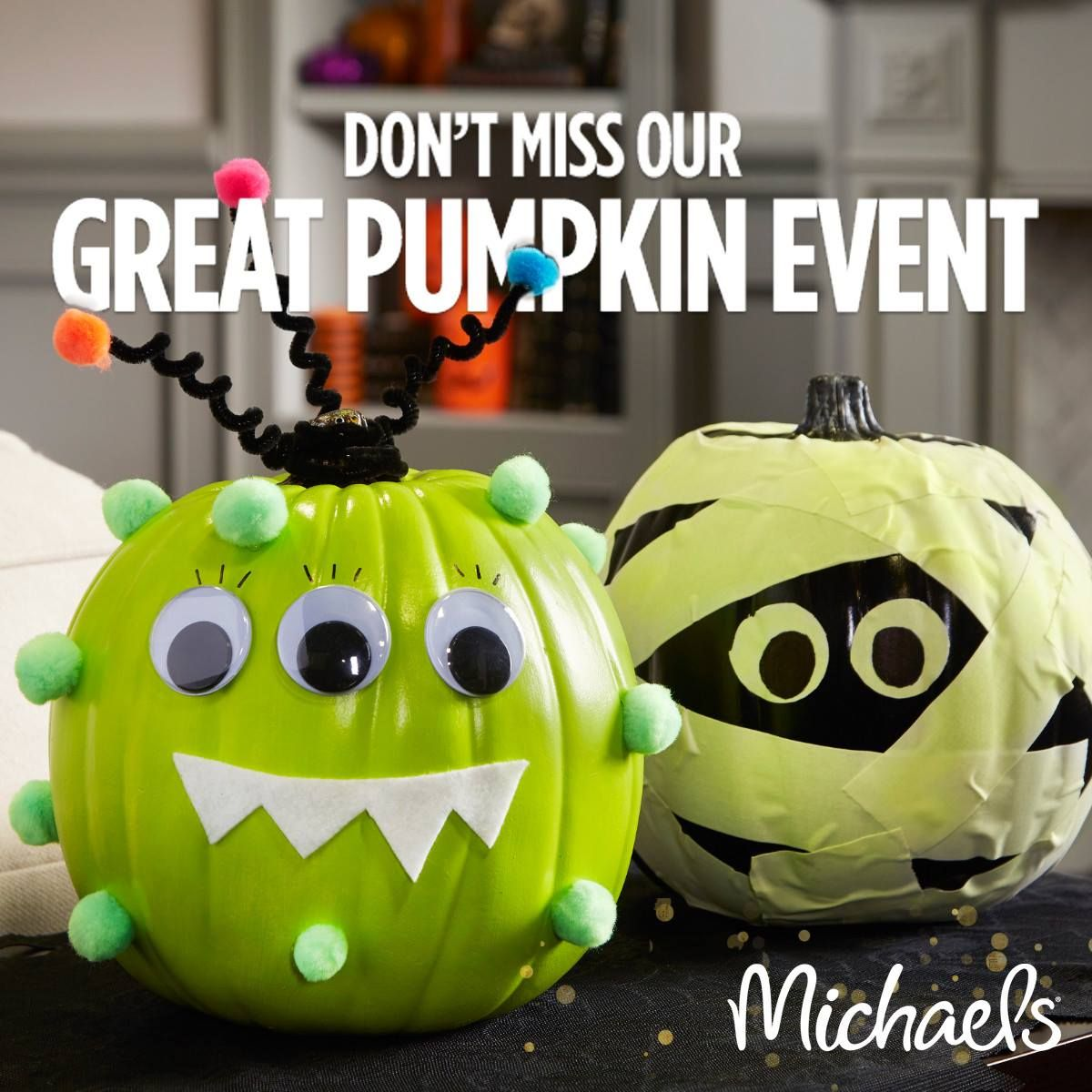 Halloween Craft Event + MoneySaving Coupons from Michaels