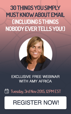Exclusive Free Webinar with Amy Africa