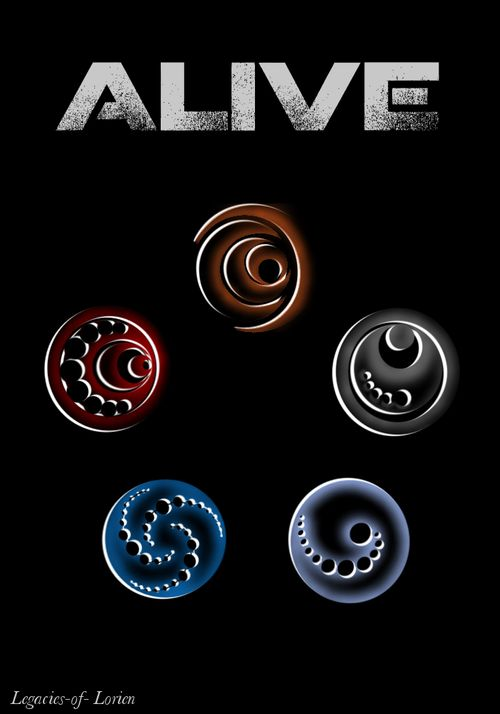 I Am Number Four Symbols I Am Number Four Pinterest Symbols