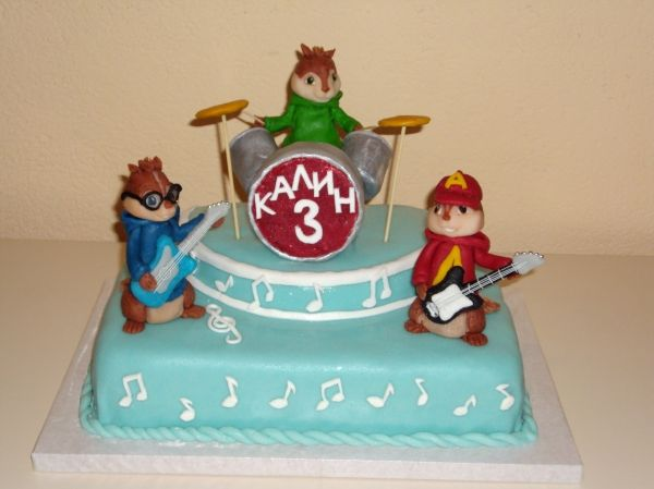 Alvin And The Chipmunks Birthday Cake: Alvin Chipmunks Cake