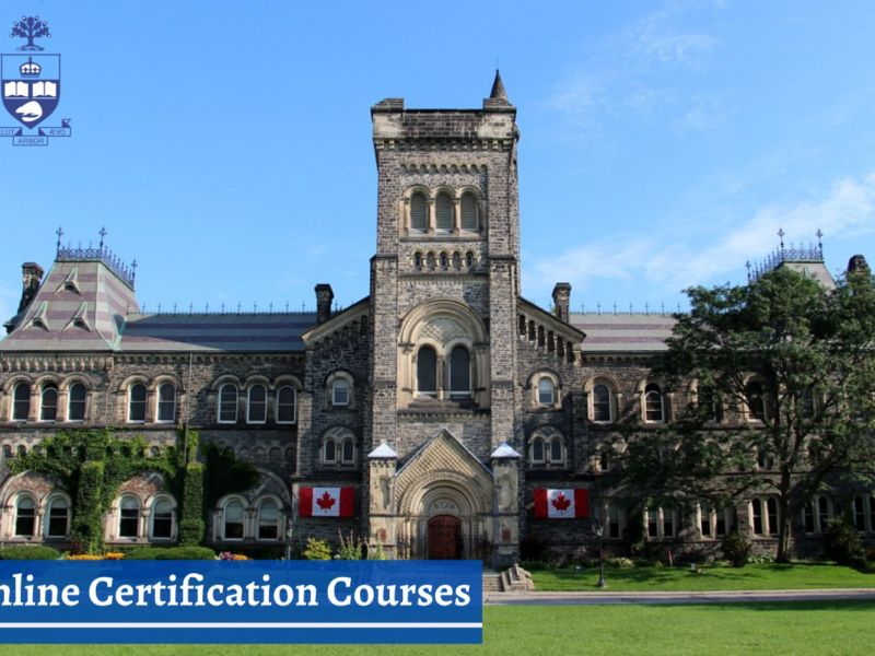 Best Online Certification Courses at the University of