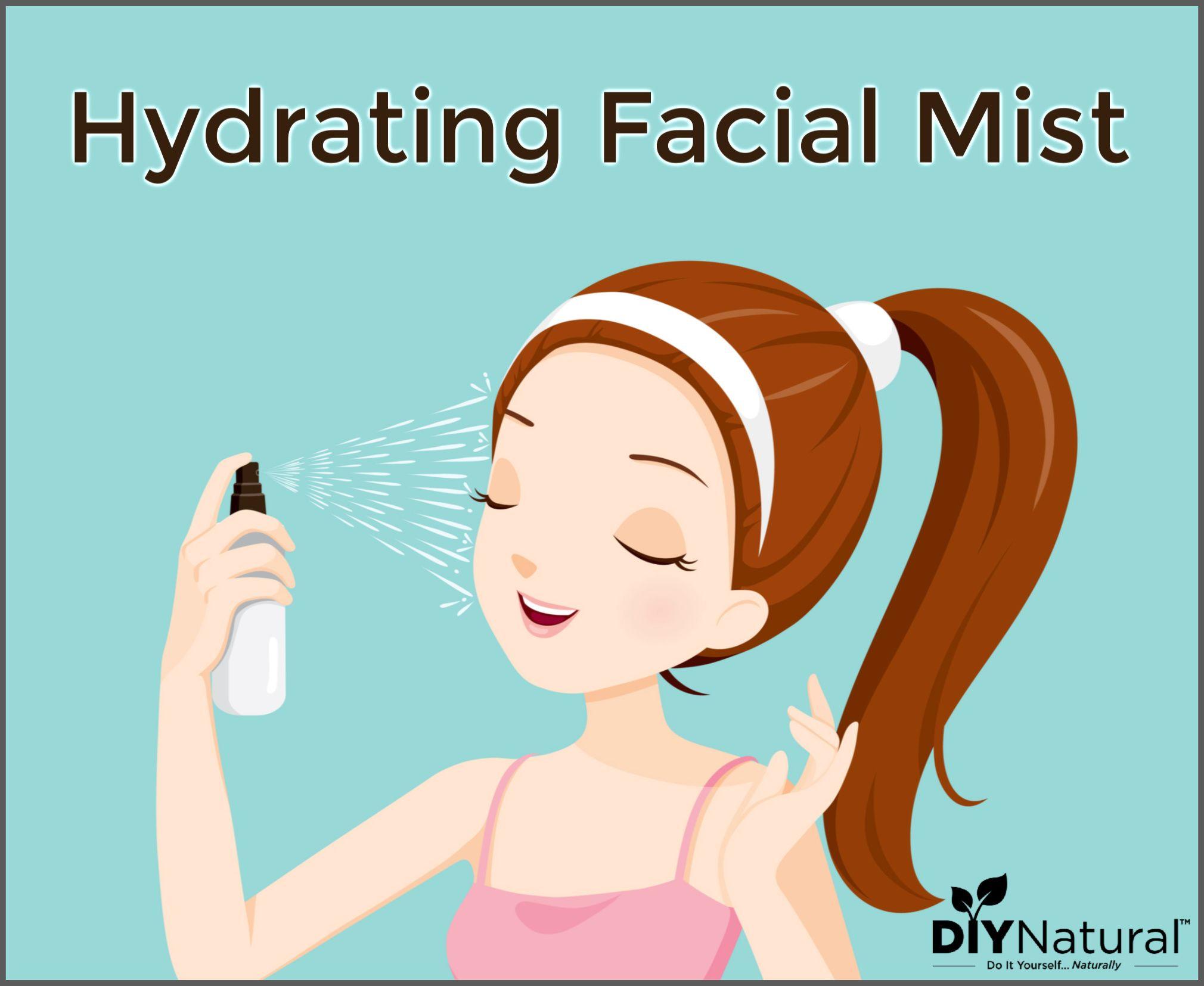 Facial Mist: A Simple DIY Hydrating Facial Mist to Moisturize Your Face