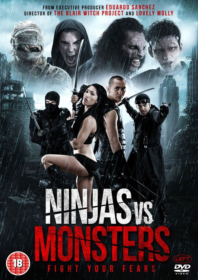 Ninjas vs  Monsters' Review - Low-budget Fun | Movies Worth