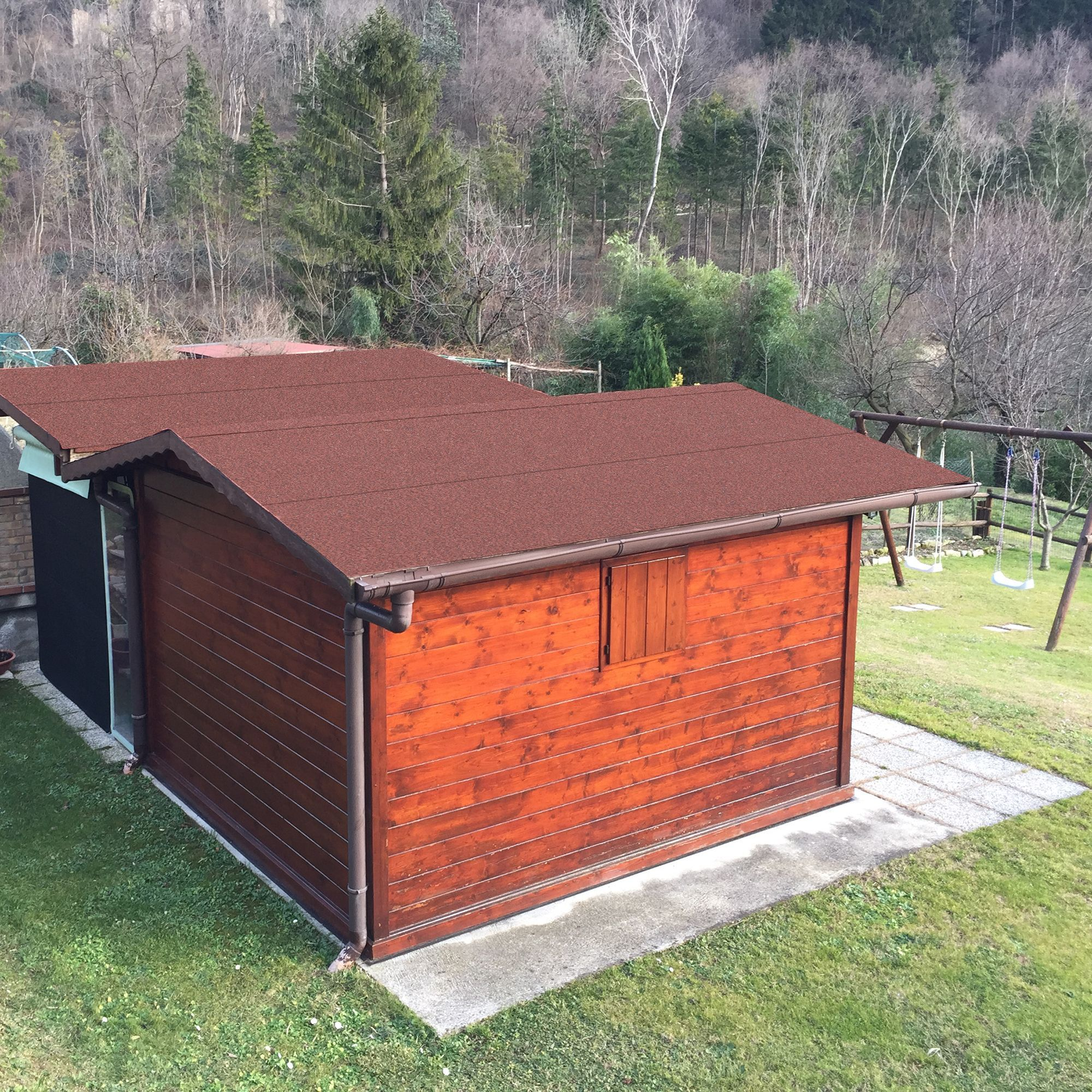 Roof Pro Super Red Shed Felt L 10m W 1m Shed Garden Buildings Outdoor Decor