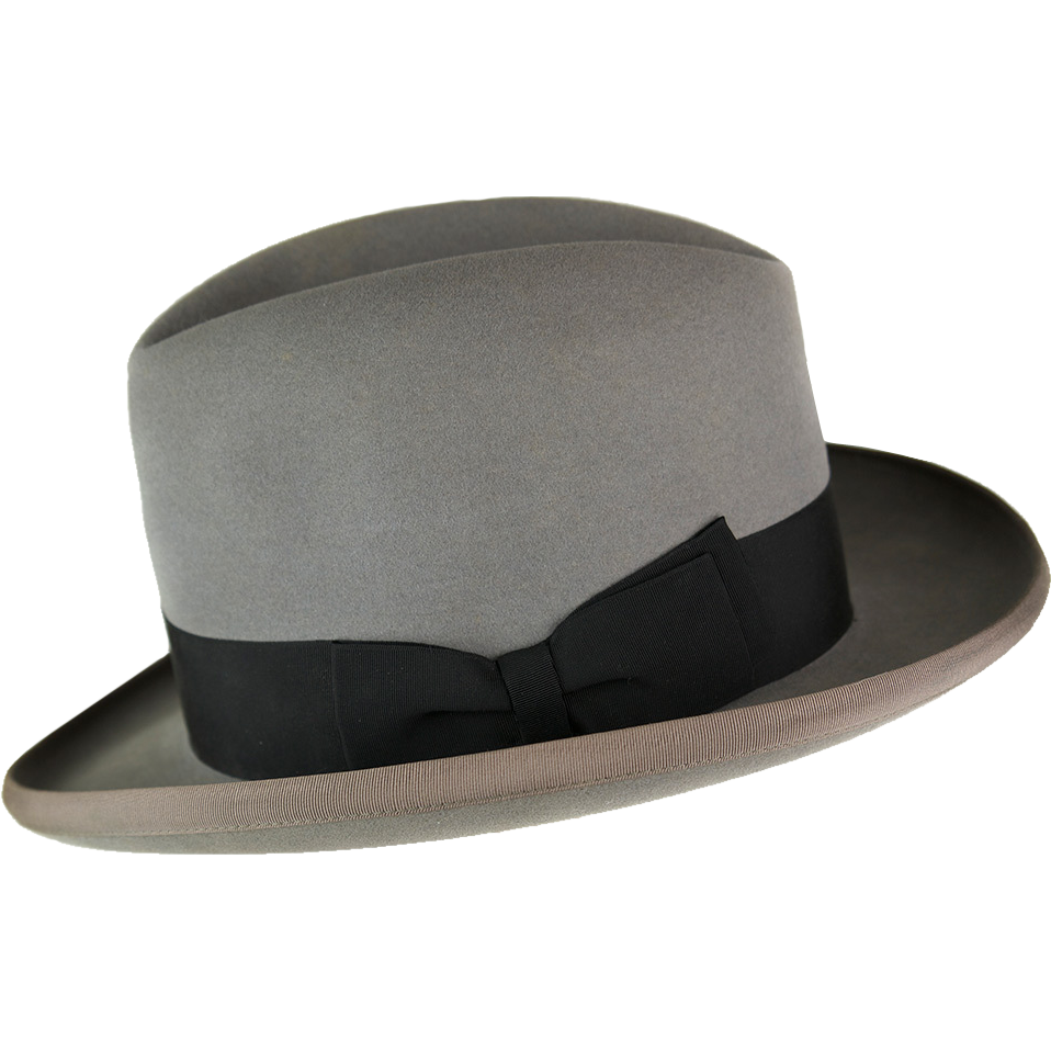 4dac106a313c5 Rare Vintage 1940s Gentleman s Homburg Hat at The Gilded Griffin on  RubyLane.com