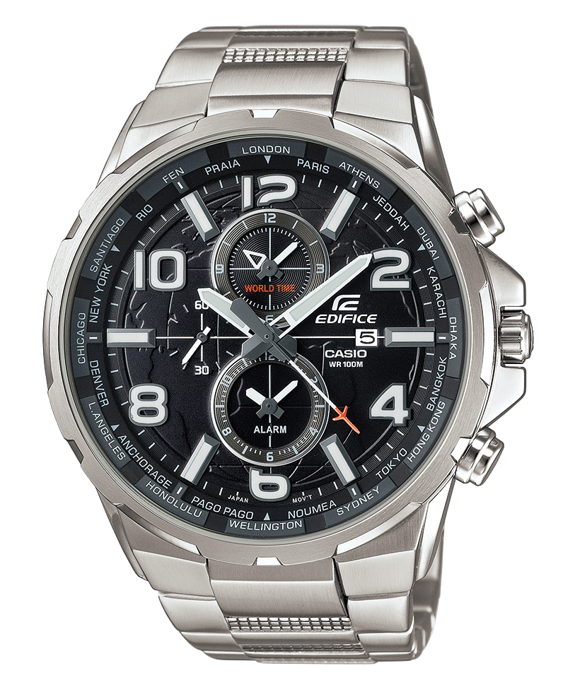 2f77860d45a Relógio CASIO EDIFICE MILITARY - EFR-302BK-1AVUEF Casio Watch