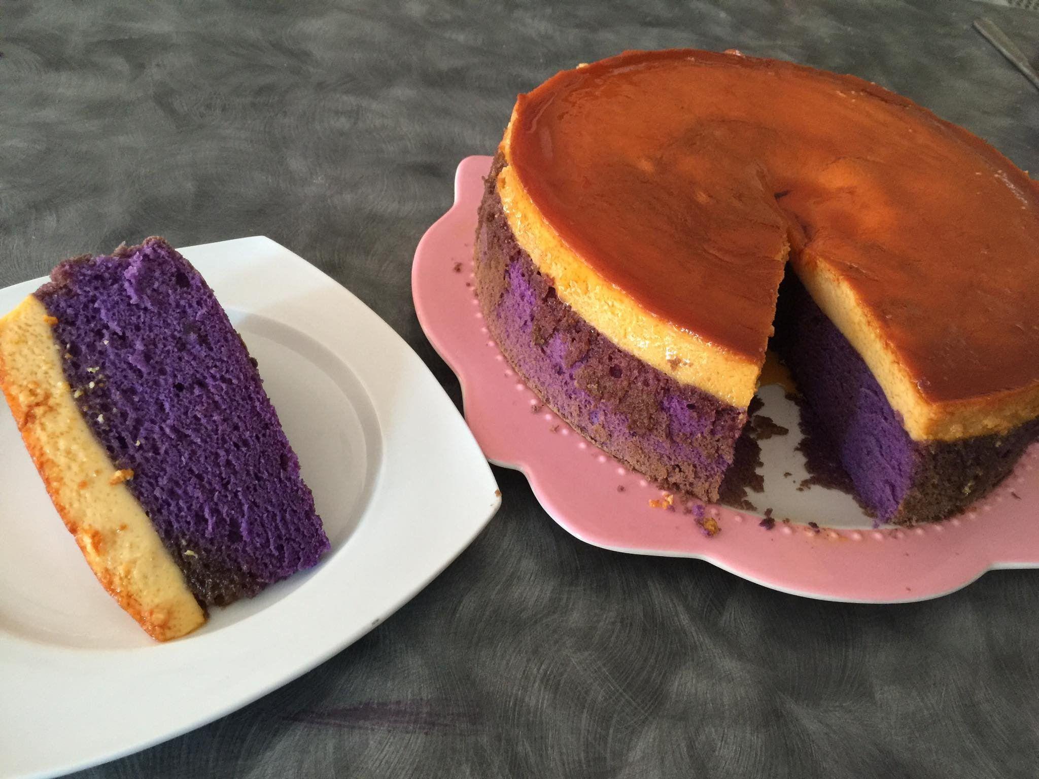 My Sweet Ambitions Ube Cake