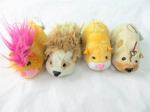 Zhu Zhu Pets Lot Of 4 Pink Mohawk Gray Mouse Tan Yellow Brown Ebay Pretend Play Toys Pretend Yellow And Brown
