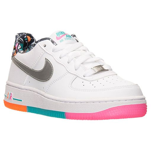Boys  Grade School Nike Air Force 1 Low Casual Shoes - 596728 100 ... 01e8d62a37f2