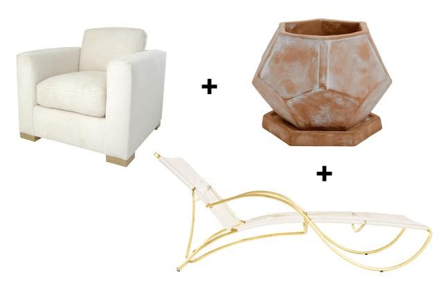 """""""The A-to-Z Guide to Outdoor Furniture""""  An array of 26 elements you can combine to make your outdoor space as chic and eclectic as your indoor domain"""
