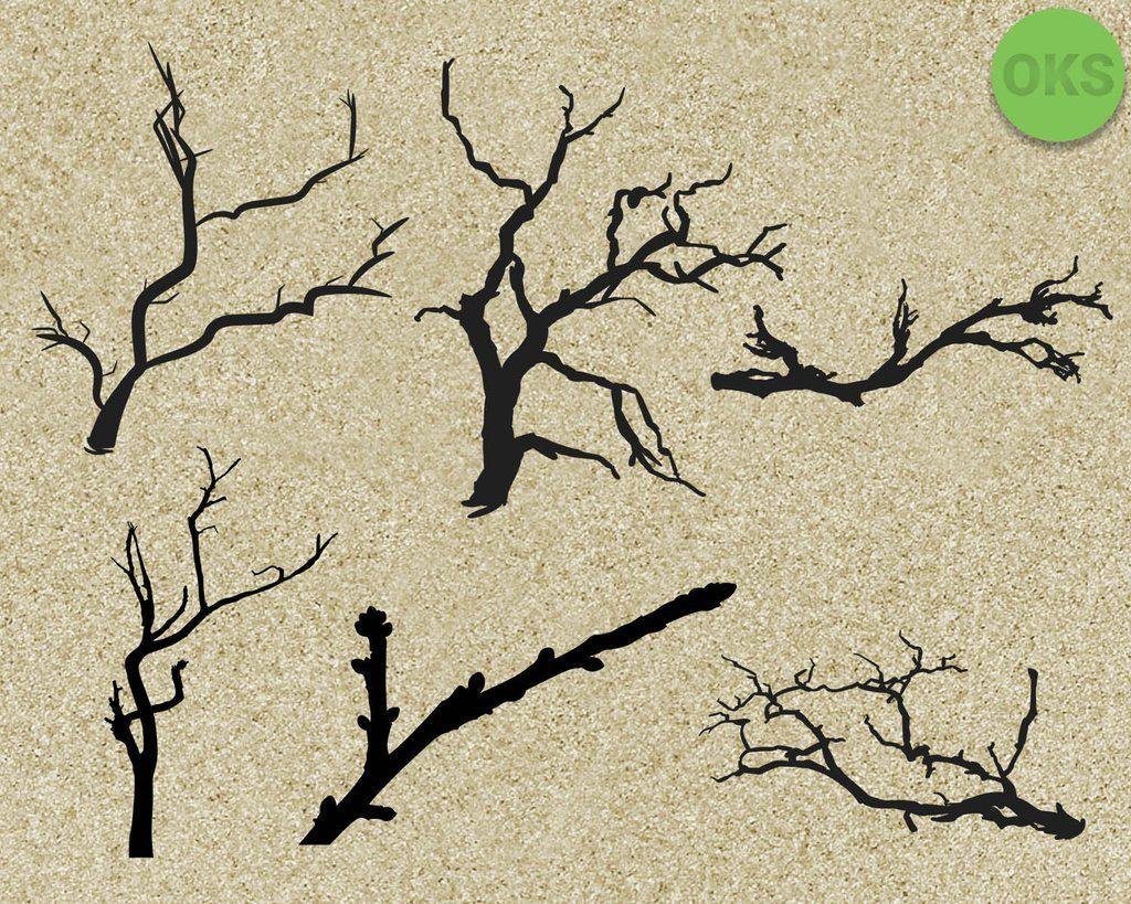 FREE Tree Branch svg, dxf, vector, eps, clipart, cricut
