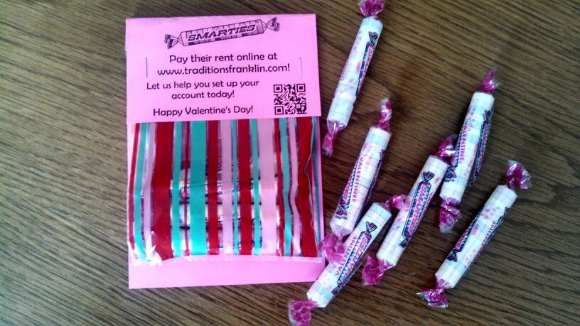 Smarties pay their rent online happy valentines day resident great idea to spread the word to your residents about paying rent online especially if you are rolling out resident portals for the first time stopboris Image collections