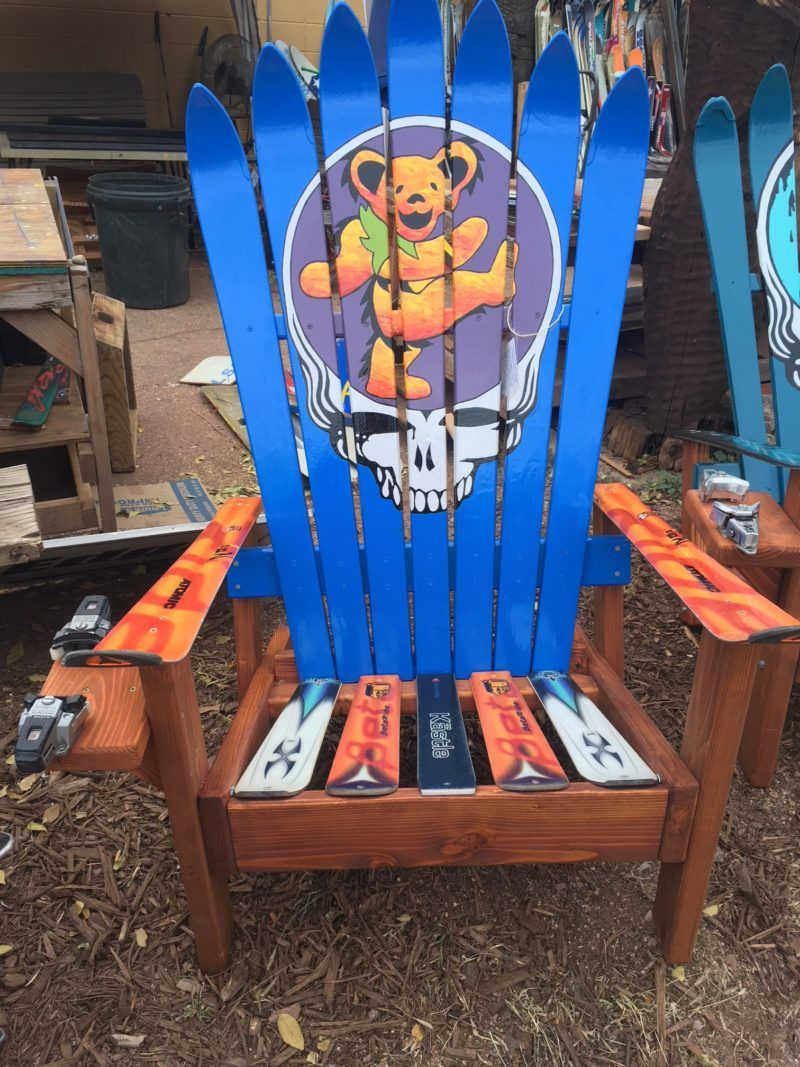 New Blue Haze Stealy Dead Chair Grateful Dead Head