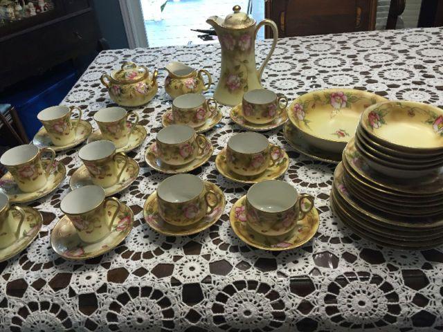 Beautiful Vintage Set of Hand Painted NIPPON Dishes | kitchen u0026 dining wares | Oshawa / & Beautiful Vintage Set of Hand Painted NIPPON Dishes | kitchen ...