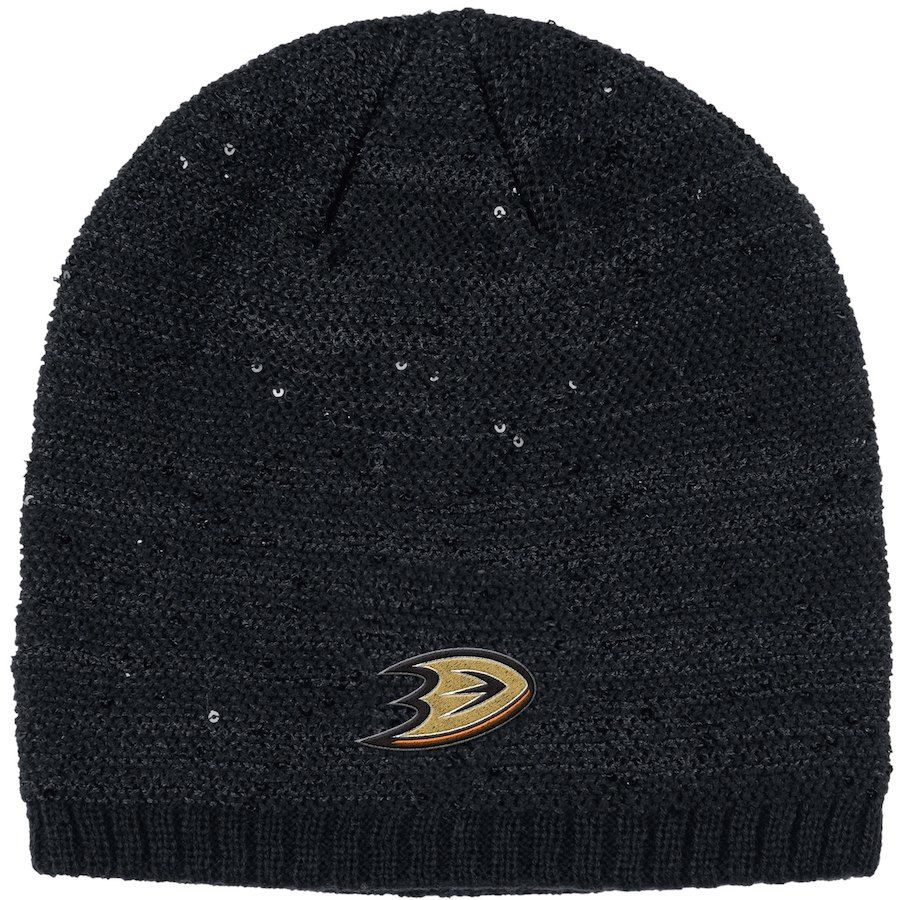 ba805785fb62f where to buy anaheim ducks adidas nhl womens cuffed pom knit d9e8a 16349