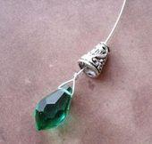 Photo of Machen Sie Briolette-Ohrringe und wickeln Sie Draht – die Perle … #briolette #wire # …