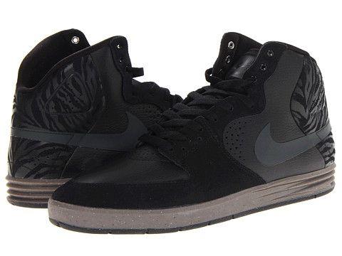 watch dca56 e4be9 Nike SB Paul Rodriguez 7 High Black Gum Dark Brown Anthracite - Zappos.com  Free Shipping BOTH Ways