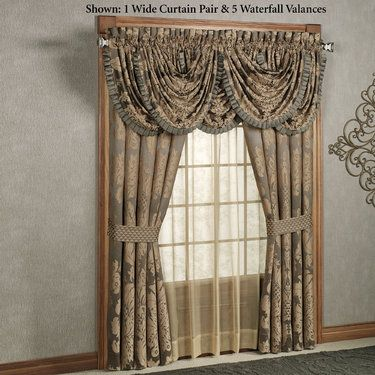 Melbourne Damask Window Treatment by J Queen New York