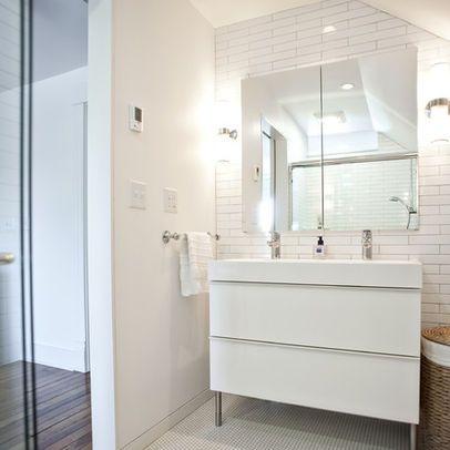 Louisville Subway Tile Design Ideas Pictures Remodel And Decor Ikea Bathroom Vanity Ikea Godmorgon Ikea Vanity