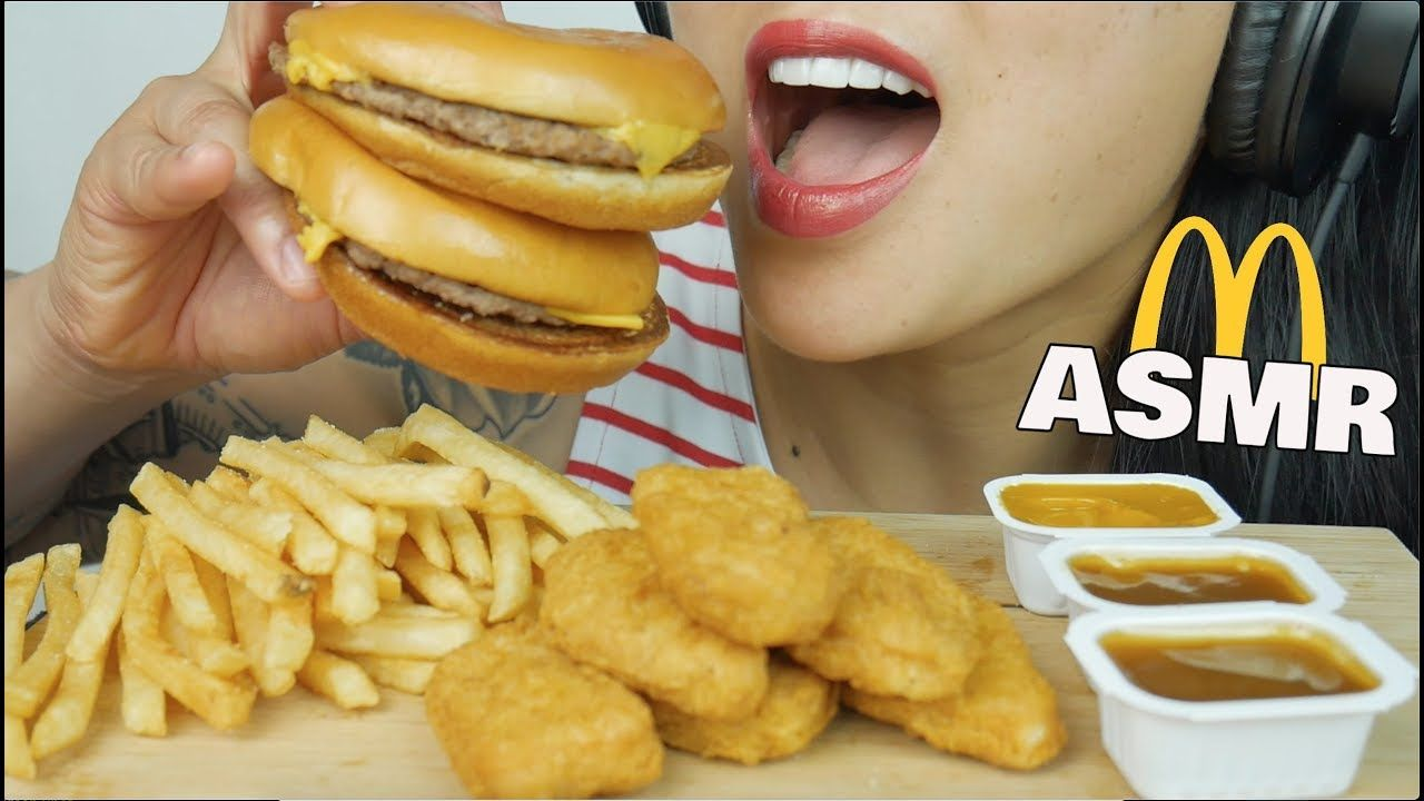 Asmr Mcdonalds Chicken Nuggets Cheeseburger Eating Sounds Sas Asmr In 2020 Chicken Nuggets Mcdonalds Mcdonalds Chicken Cheeseburger Mcdonalds Remember, everyone has a different asmr triggers so i hope you enjoy the sounds on. asmr mcdonalds chicken nuggets