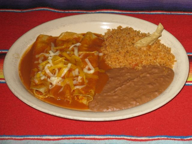 Casa Ole Enchiladas - seriously, I would pay big money to ...
