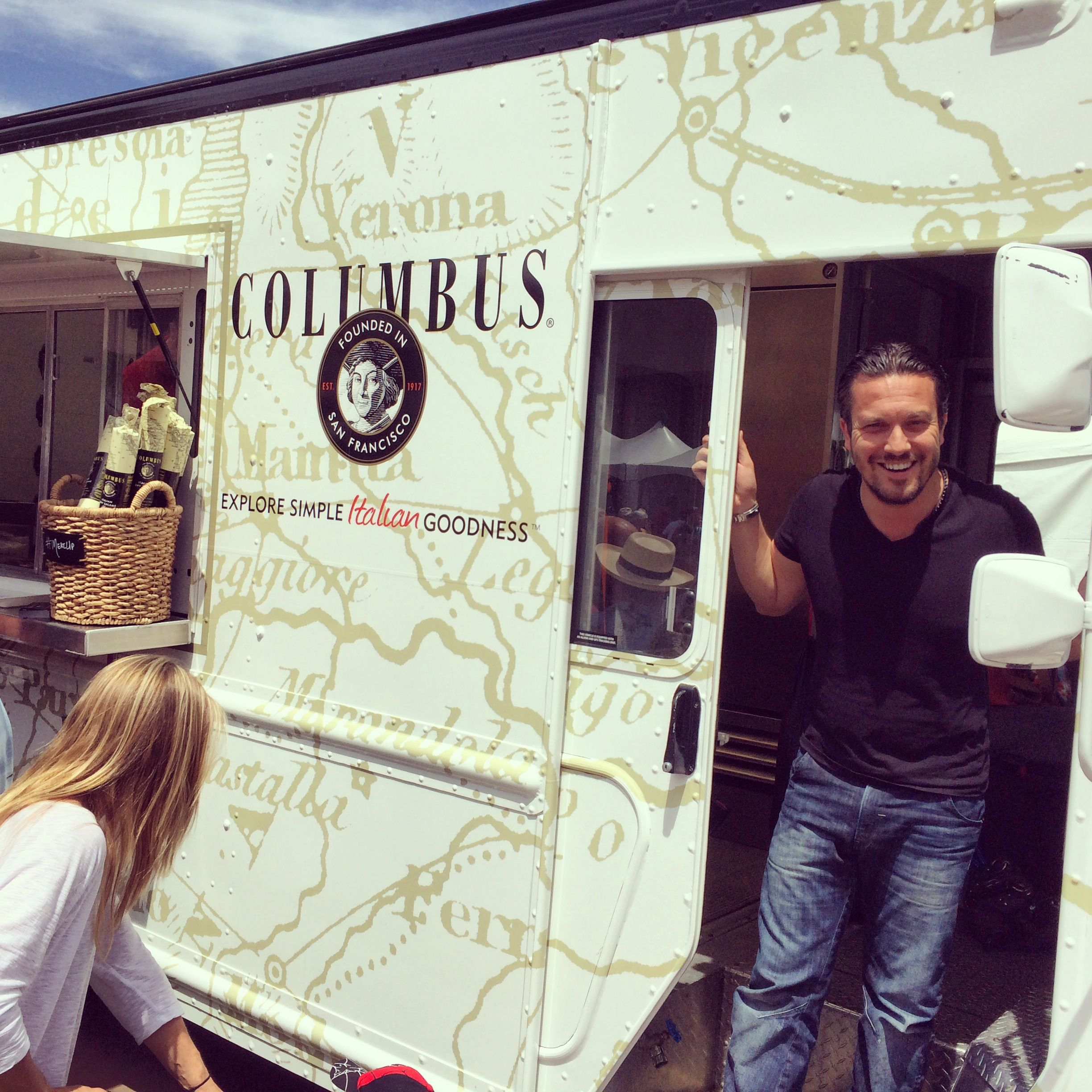 "Allied Experiential has paired ""Top Chef"" Fabio Viviani with our client Columbus Foods to promote this spring's ""Meat Up Food Truck Tour."" At each stop, we're inviting consumers to sample Columbus' premium salumi and deli meat offerings at our custom food truck and café. Chef Fabio will be making special appearances throughout the tour. Follow #MeatUp for updates and stop details."