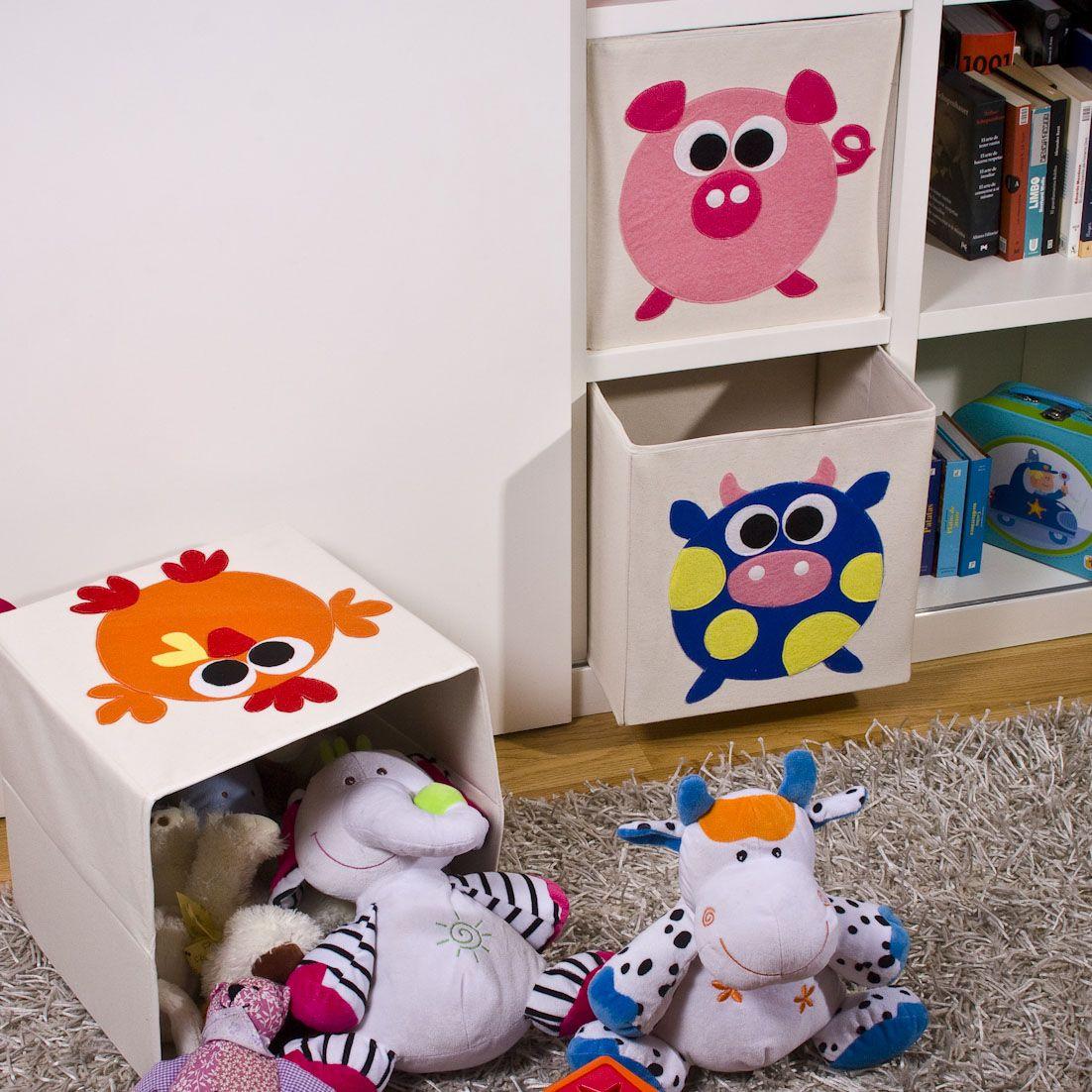 Cajas de alamacenaje infantil la granja en cajas de almacenaje diy furniture - Caja almacenaje infantil ...