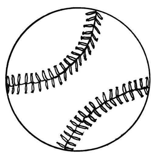 Free Printable Softball Coloring Pages
