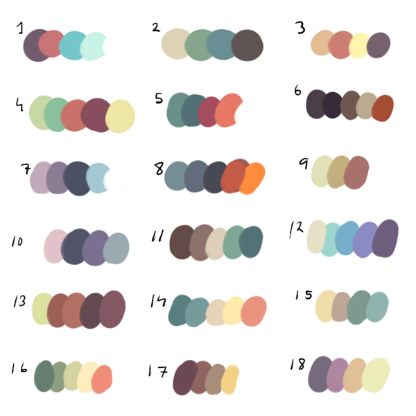 Freetouse Colour Palette By Dexikon On Deviantart