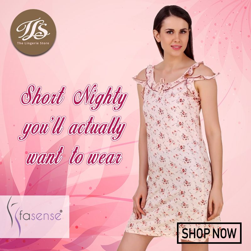 0ef5e59b11 ... Women by Tls Lingerie. Short Nighty you ll actually want to wear. Shop  Short Nighty from Fasense at