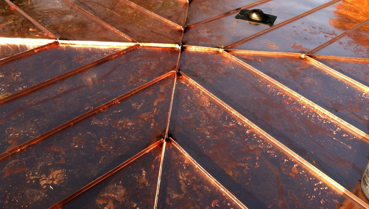 Copper Roofing And Accents Copper Roof Metal Roof Copper Work