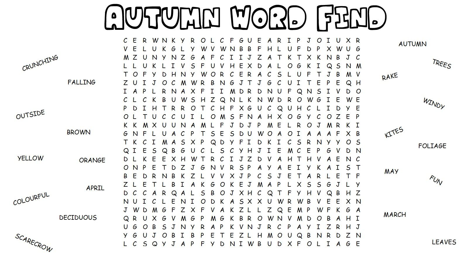 FREE word search puzzle: Spanish Word Search 4 from ...