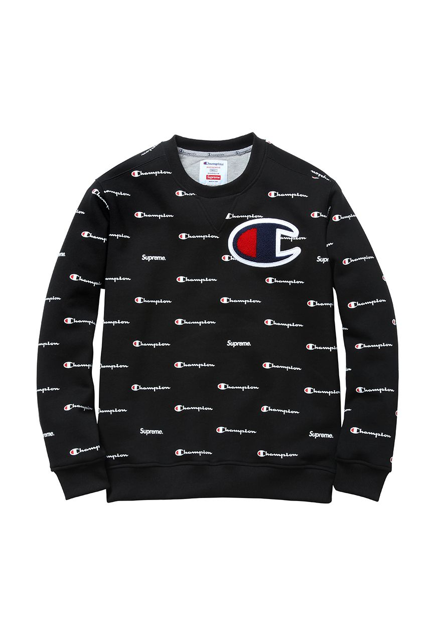 Supreme X Champion 2013 Holiday Capsule Collection Champion Clothing Mens Sweatshirts Hoodie Supreme Clothing Menswear [ 1280 x 853 Pixel ]