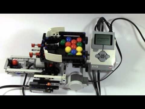 Mindstorms EV3 Ball Color Sorter Part 1 | Lego Mindstorms ...