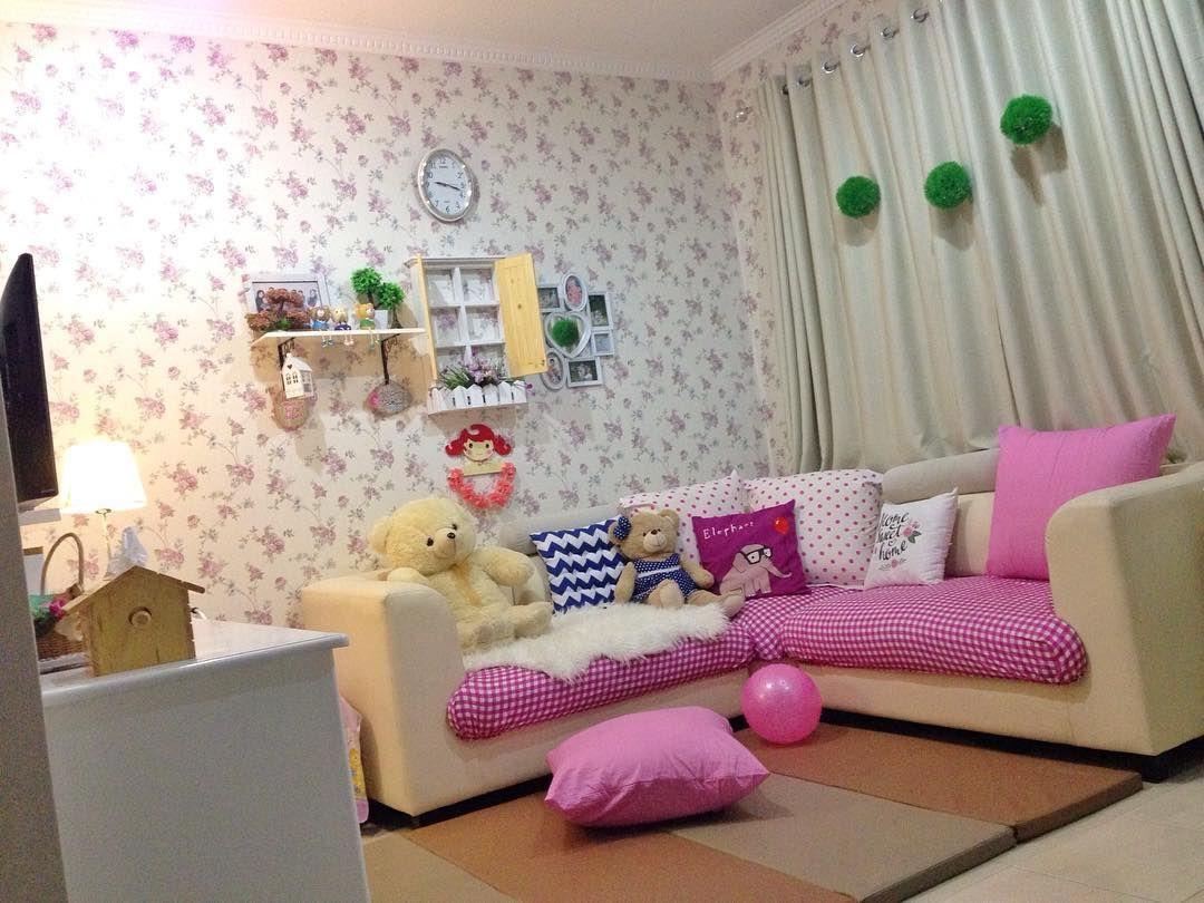 Cat Rumah Shabby - desain ruang tamu minimalis shab chic terbaru ruang tamu 737b93da884dae5ee81593e14311b317