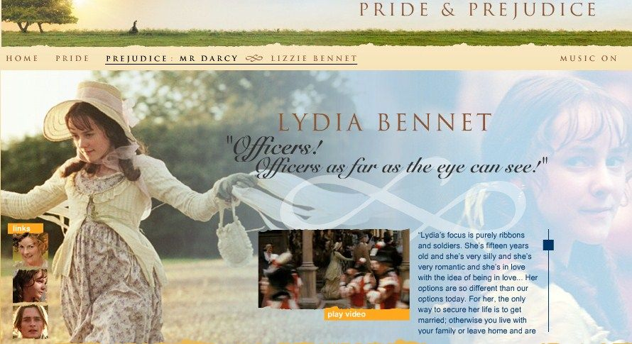 Lydia Bennet's Description