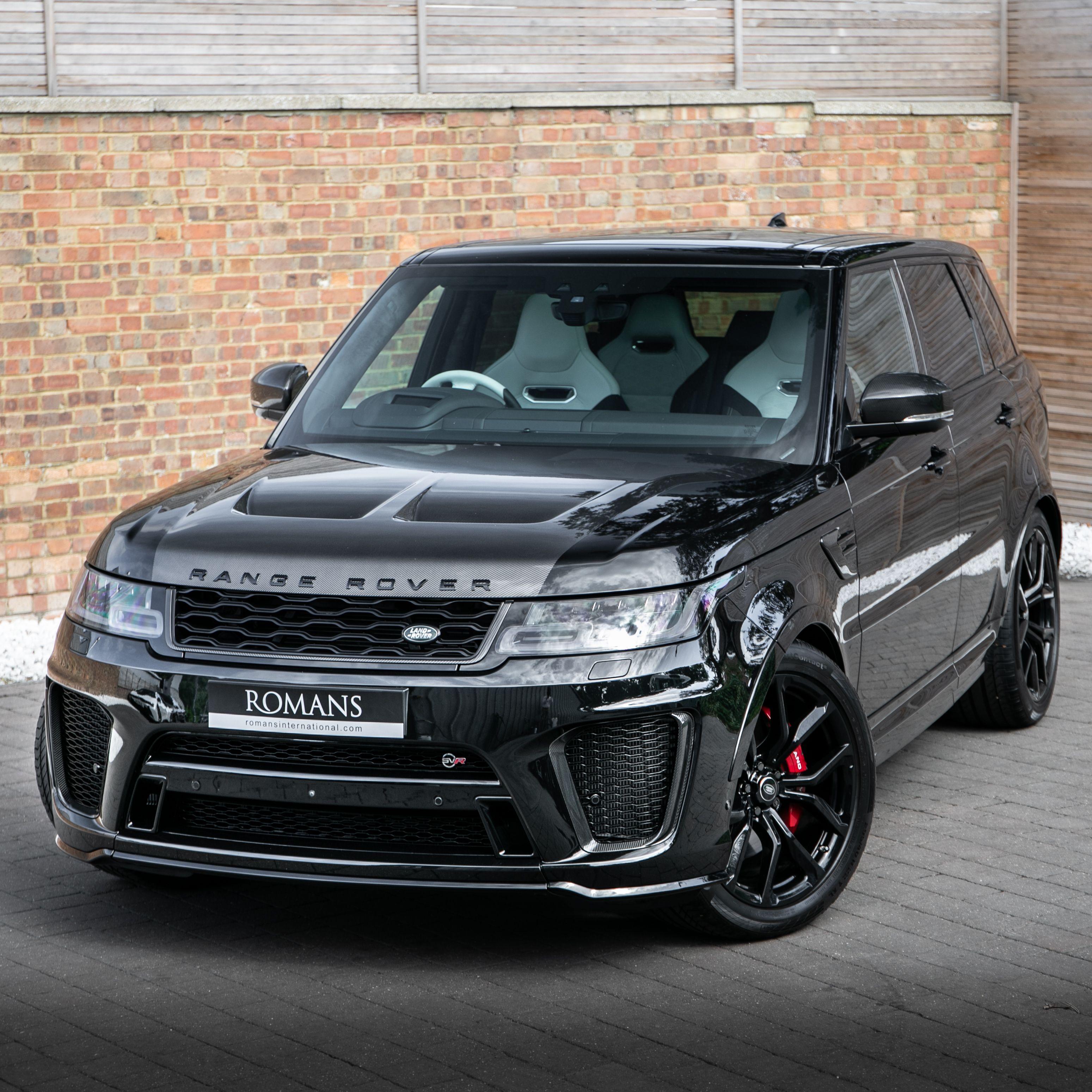 2019 Used Land Rover Range Rover Sport Svr Range rover