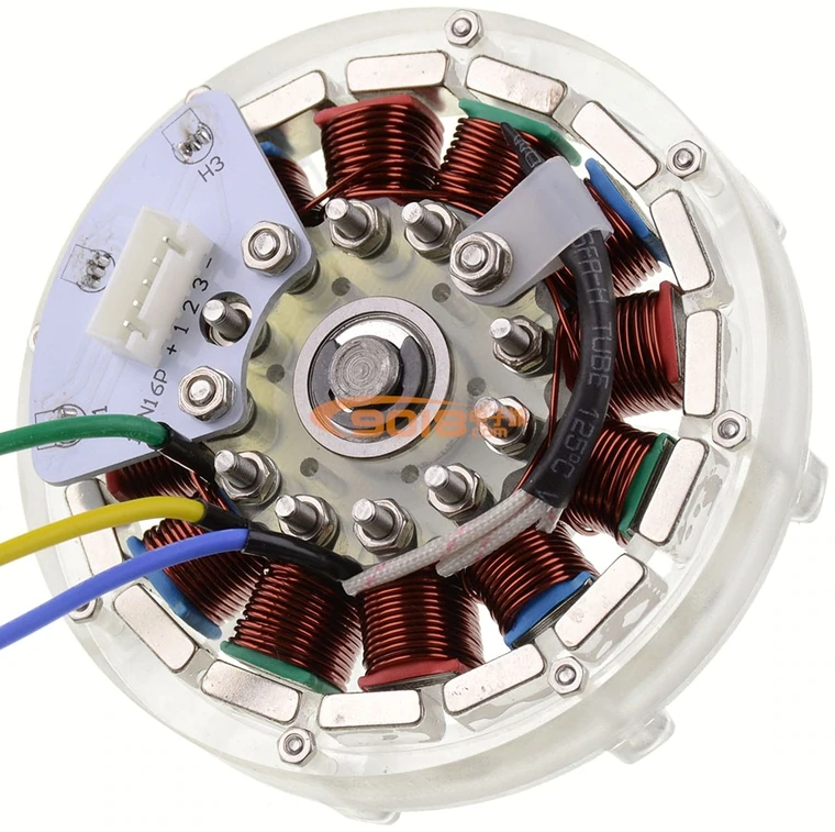 Disc Type 12n16p Dc Brushless Motor Permanent Magnet Outer Rotor Motor Hub Motor Diy With Sense Hall Has Been Wound With Hall Dc Motor Aliexpress Solar Powered Cars Electrical Motors Electric