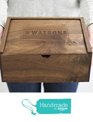 Engraved Wooden Memory Box with Tray Insert Wedding Keepsake Box for Mum /& Dad Anniversary Presents for Mum and Dad Gifts for Parents Wedding