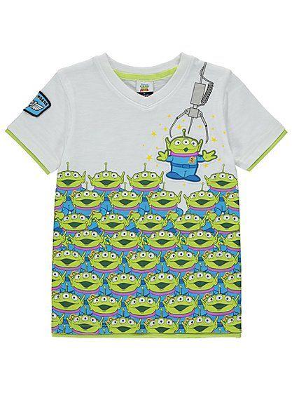 Toy Story Alien Shirt Boy Girl Baby Newborn Bodysuit Kid Adult Costume