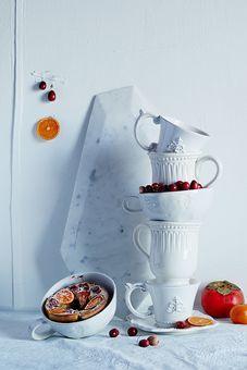 Allspice Persimmon & Cranberry Clafoutis Recipe